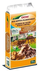 DCM Koe-kippen-paardenmest kruimelvorm 10kg