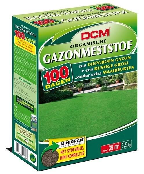 DCM Organische Gazonmest minigranulaat 3.5 kg