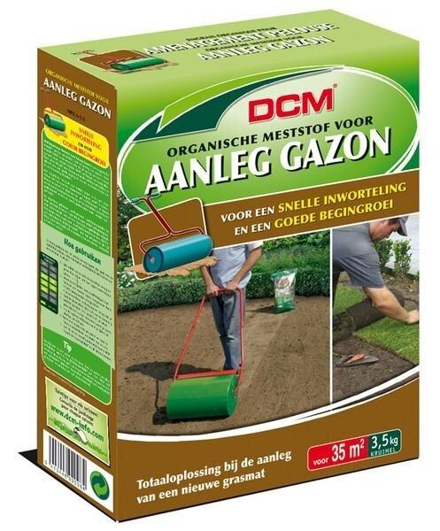 DCM Organische Gazonmest voor aanleg gazon 3.5 kg