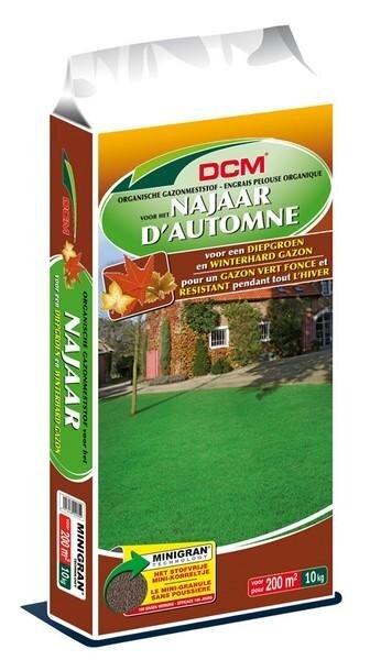 DCM Organische Gazonmest voor het Najaar minigranulaat 10 kg