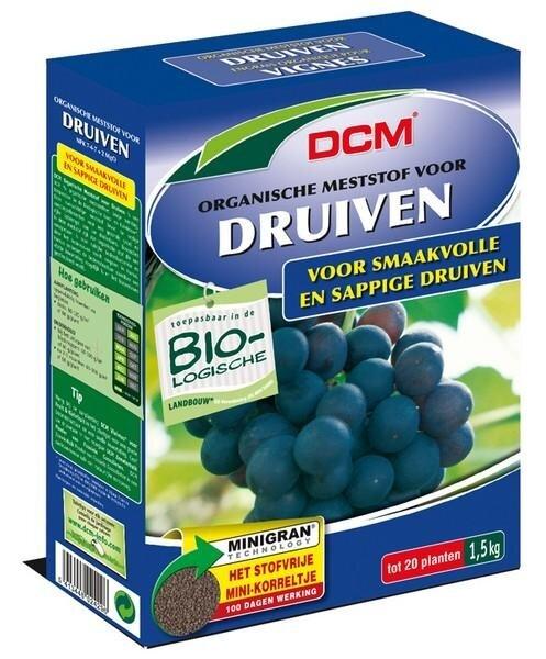 DCM Organische Mest voor Druiven minigranulaat 1.5 kg