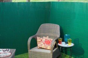 Dubbelwandig Tuinscherm Groen 1x3m kopen
