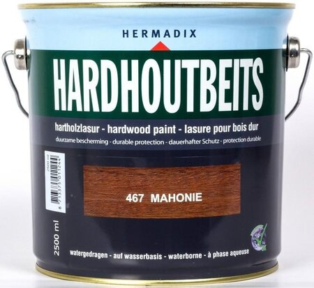 Hermadix Hardhoutbeits 467 Mahonie 2500 ml