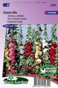 Alcea rosea - Chater's Strain Mixed zaad bloemzaden